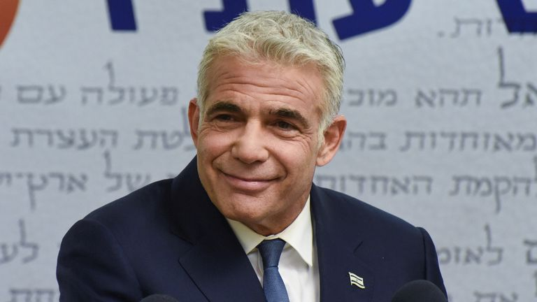 Yair Lapid is set to be handed the reins in two years time
