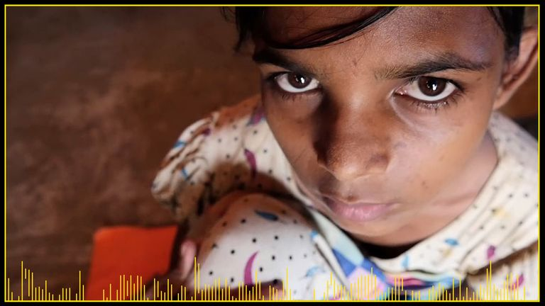 Zoora fled to Bangladesh from Myanmar after there was a massacre in her village