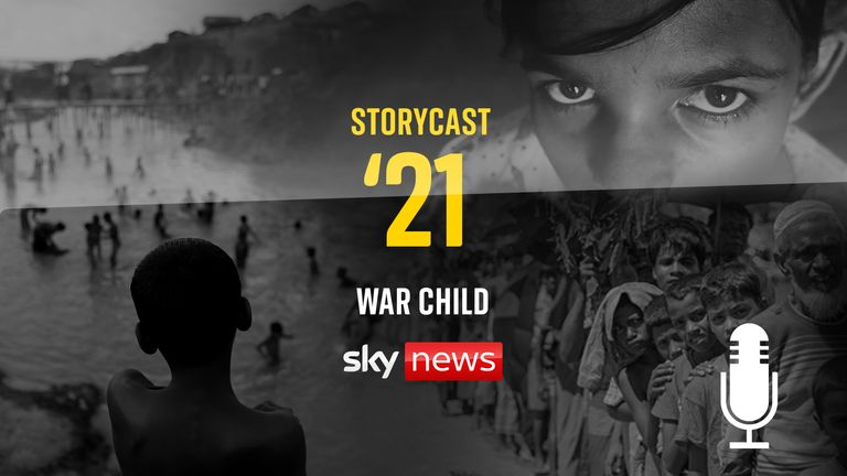 War Child tells the story of the Rohingya people through the eyes of one little girl