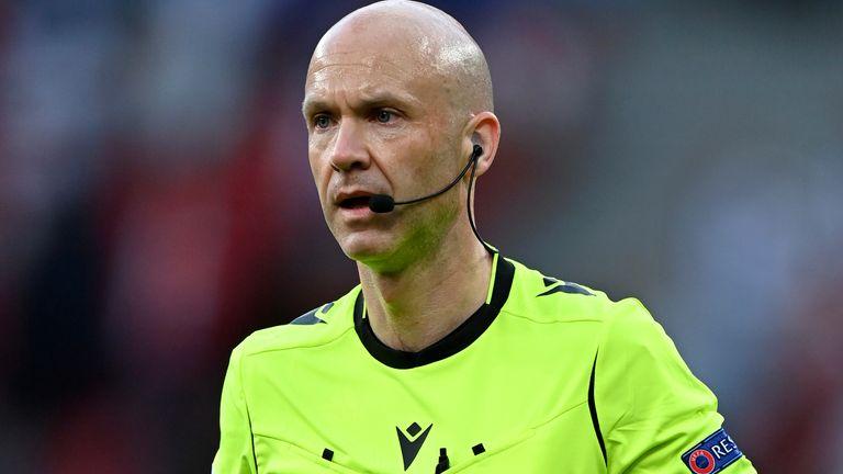 Referee Anthony Taylor (AP)