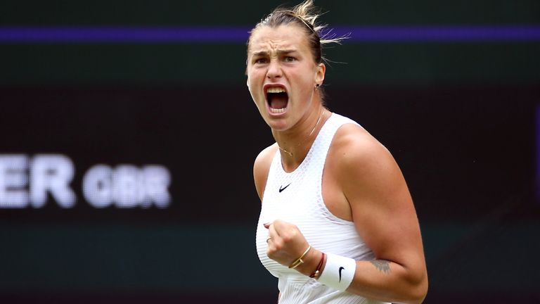 Aryna Sabalenka had to go the distance to beat Britain's Katie Boulter