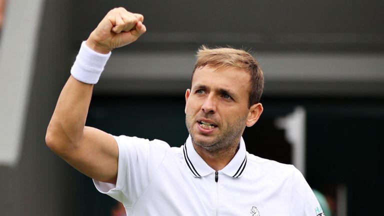 Dan Evans got his Wimbledon campaign off to a perfect start