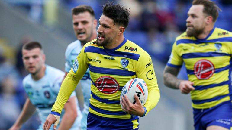 Highlights from Warrington's win against Wakefield in Super League