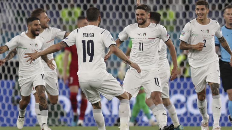 Italy beat Turkey in Euro 2020's opening match in Rome