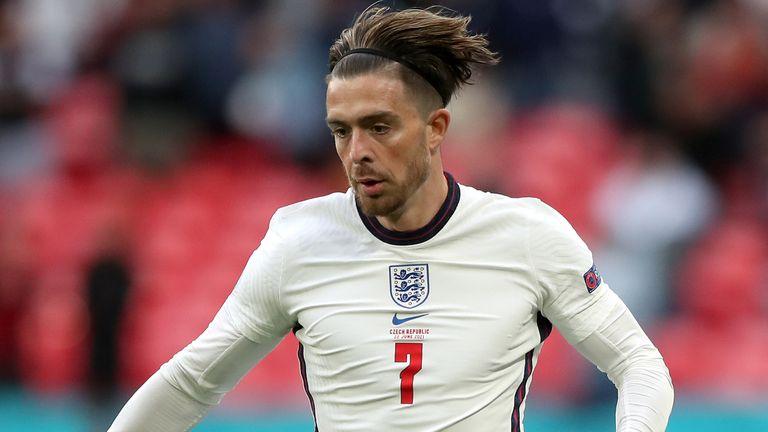 Jack Grealish won his ninth England cap against Czech Republic at Wembley on Tuesday