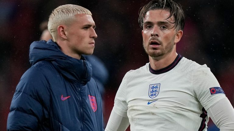Jack Grealish came on for Phil Foden against Scotland