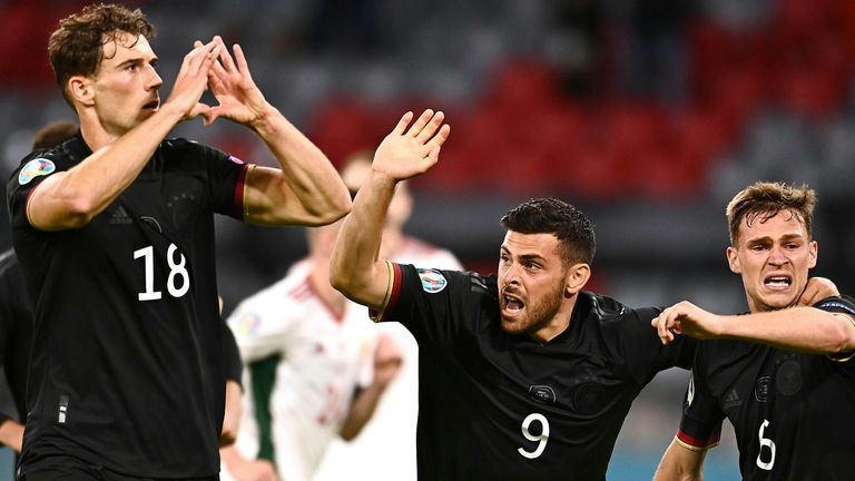 Leon Goretzka scored the vital equaliser for Germany at the Allianz Arena