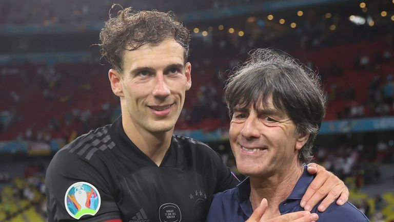 Joachim Low's second-half substitute Leon Goretzka sent Germany through to the last-16 with a late equaliser in their 2-2 draw with Hungary