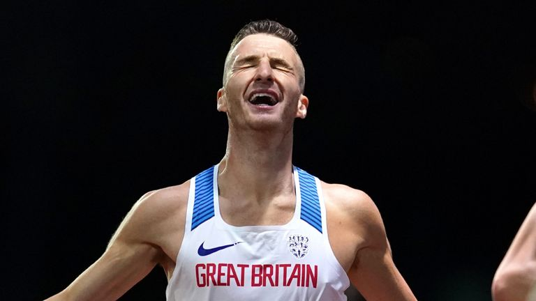 Marc Scott says he will use his victory over Sir Mo Farah in the British 10,000m championships as a platform for the future