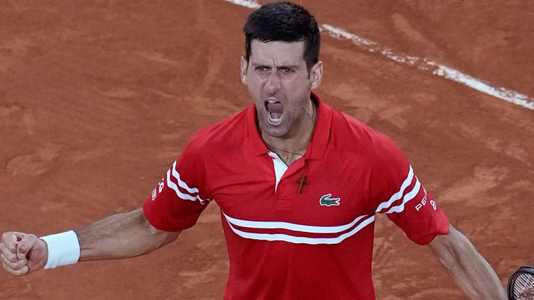 Djokovic defeated 13-time champion Nadal in a classic encounter to book a place in the French Open final
