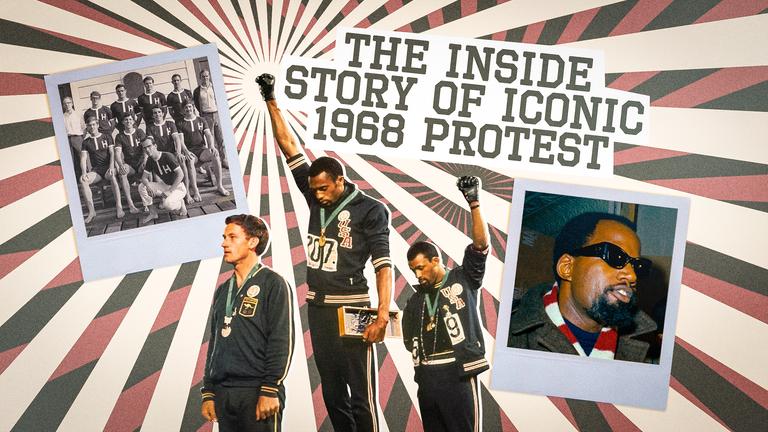 Sky Sports News se penche sur l'histoire de l'emblématique manifestation olympique de 1968 par John Carlos et Tommie Smith sur le stand à Mexico