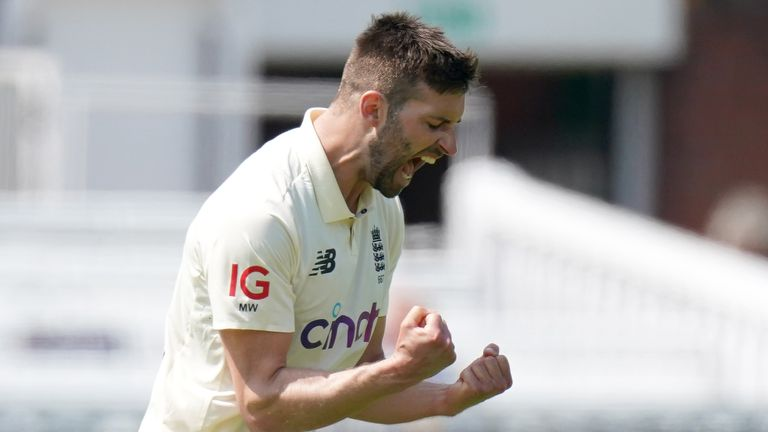 Highlights from day two of the first Test between England and New Zealand