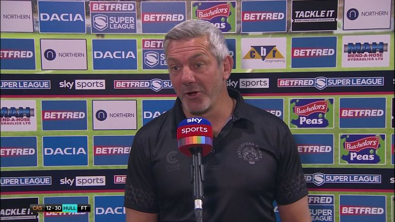 Daryl Powell was so pleased for Jason Qareqare after he scored with his first touch on debut for Castleford Tigers