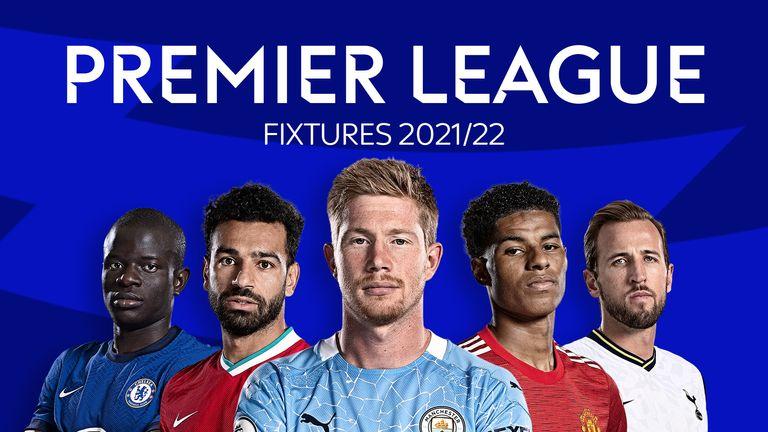 Premier League Fixtures 2021/22