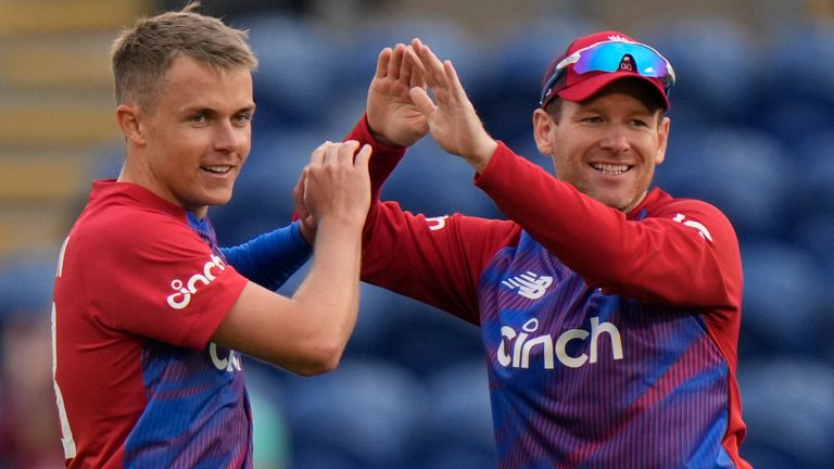 The best of the action from the first T20 between England and Sri Lanka