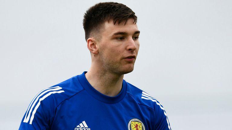 Arsenal full-back Kieran Tierney looks set to be Scotland's key man during Euro 2020