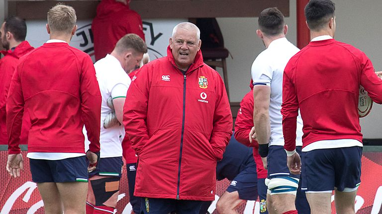 British and Irish Lions head coach Warren Gatland says he has confidence in the side he has available for the warm-up Test against Japan at Murrayfield