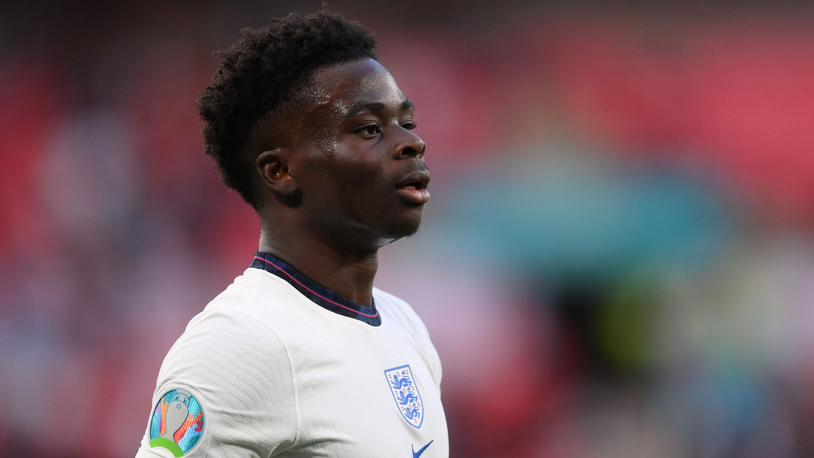 Bukayo Saka: England star says 'I will not let the negativity break me' after racist abuse