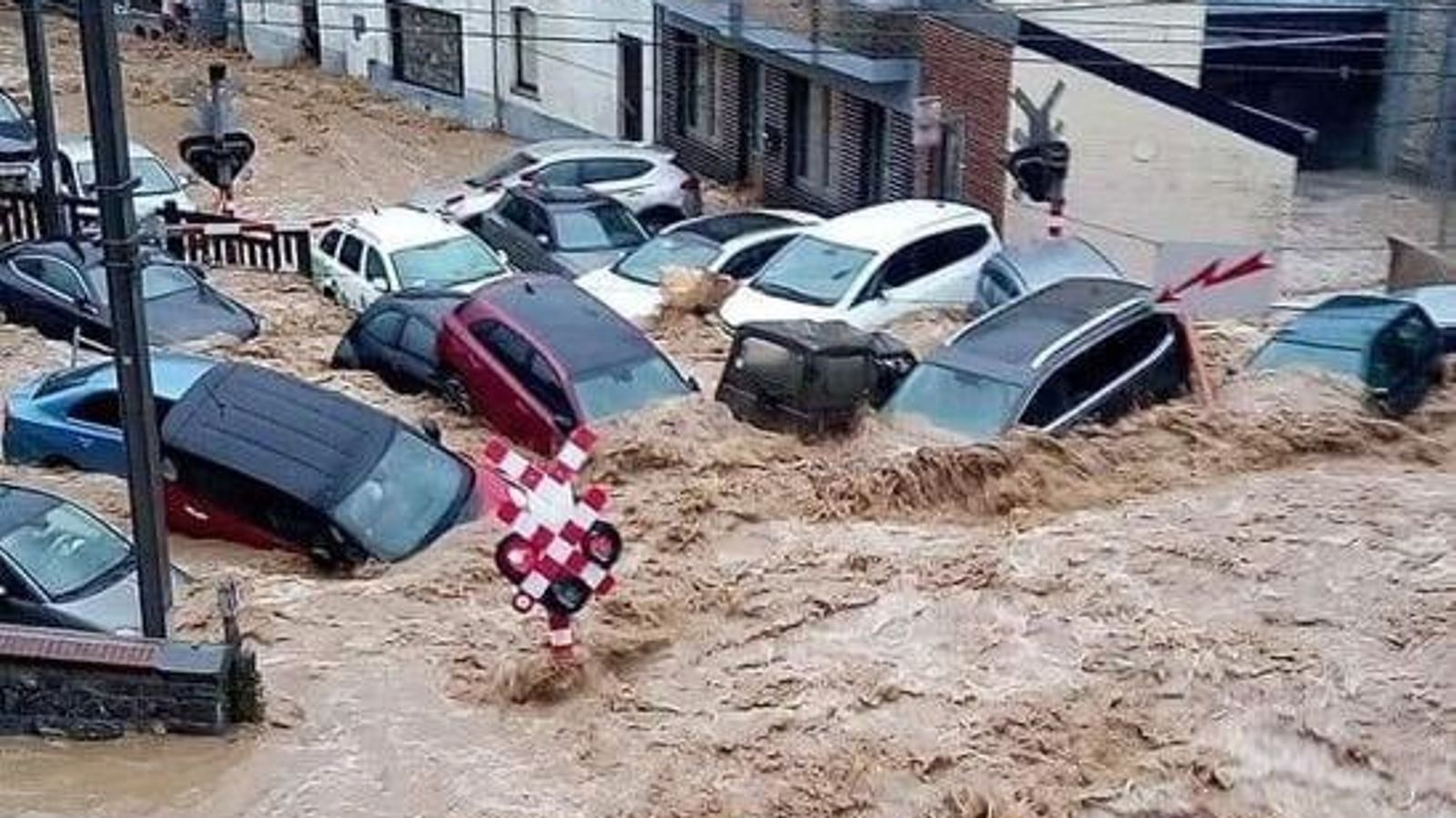 Belgium devastated by flooding for second time in just over a week