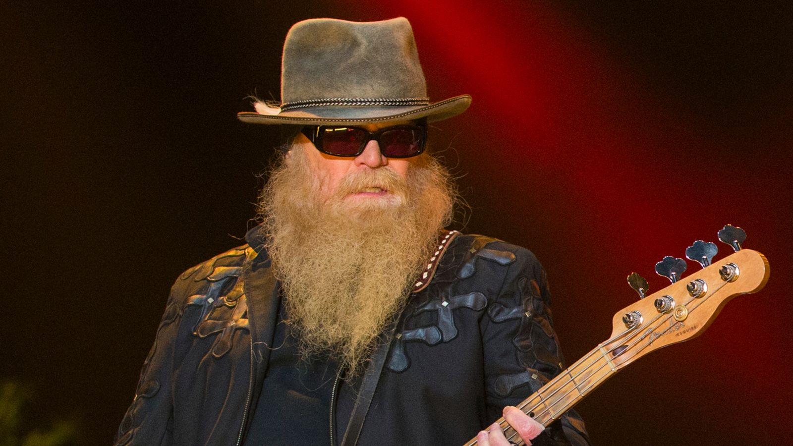 Dusty Hill: ZZ Top bassist has died aged 72, says US rock group