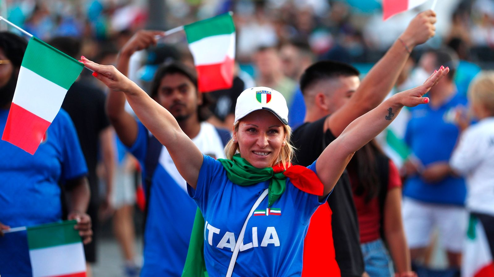 For Italian fans, now is the moment to atone for haunting failure to qualify for last World Cup