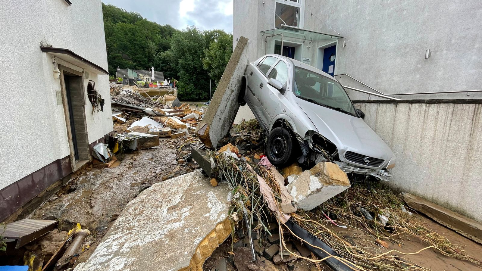 Germany and Belgium floods: A minimum of 44 useless and greater than 70 lacking after heavy rain
