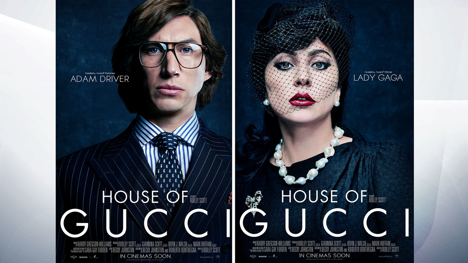 House Of Gucci trailer reveals first look at Adam Driver and Lady Gaga in film