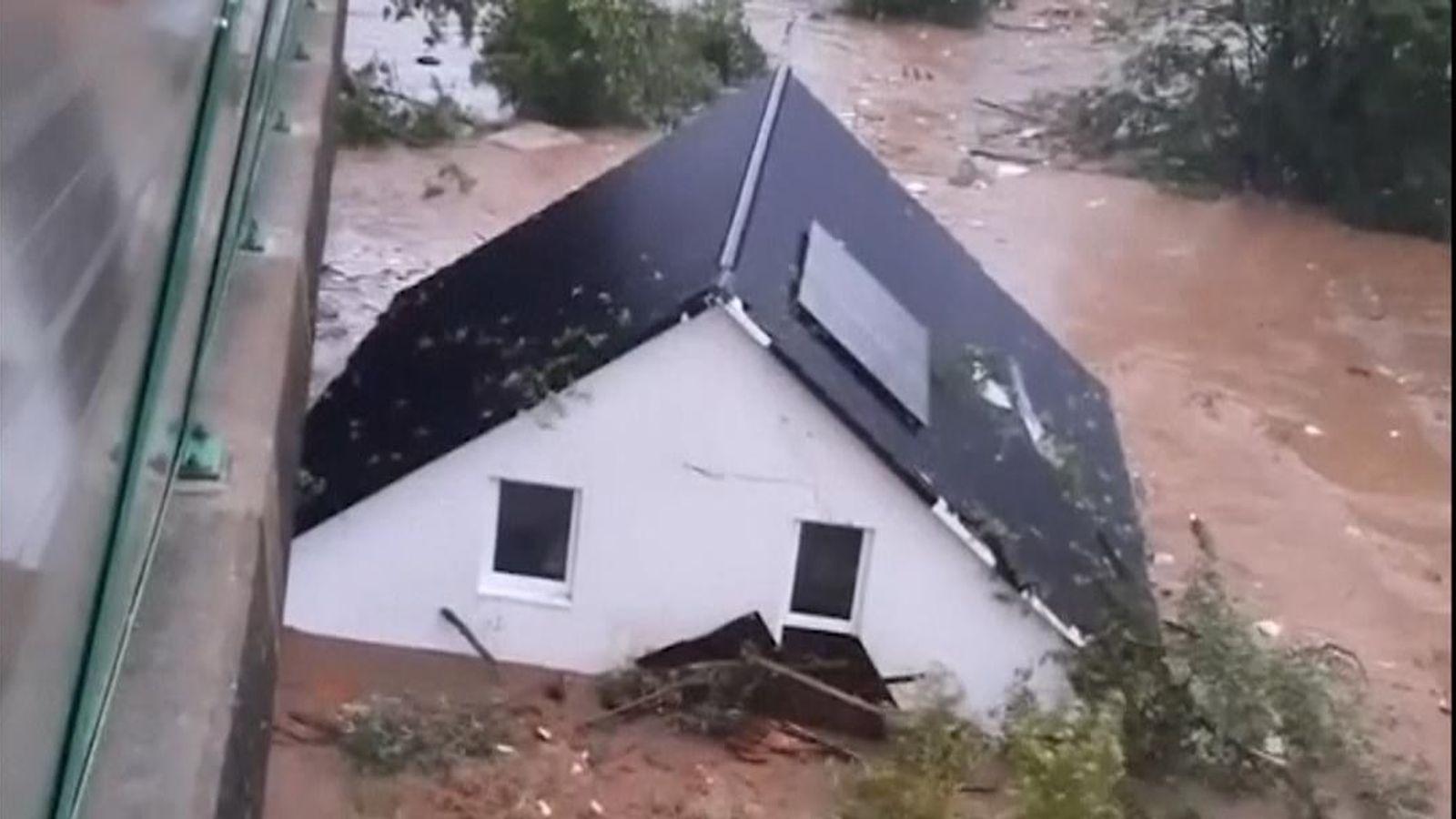 How 'inexplicable' floods have wreaked devastation across Europe