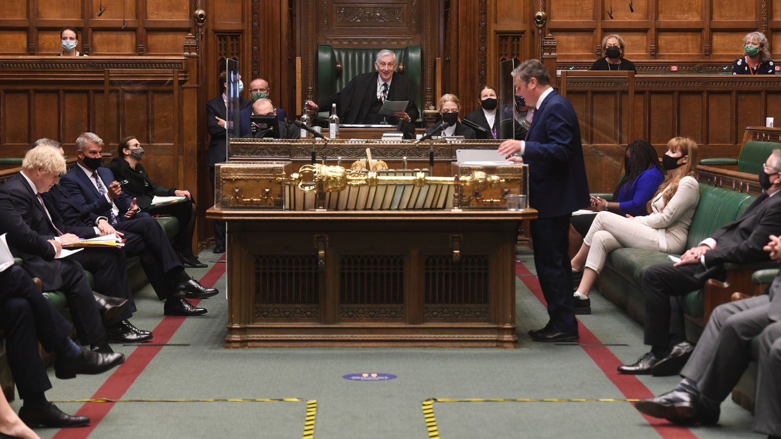 COVID-19: Parliament staff 'incredulous and angry' at MPs not having to wear masks from Monday