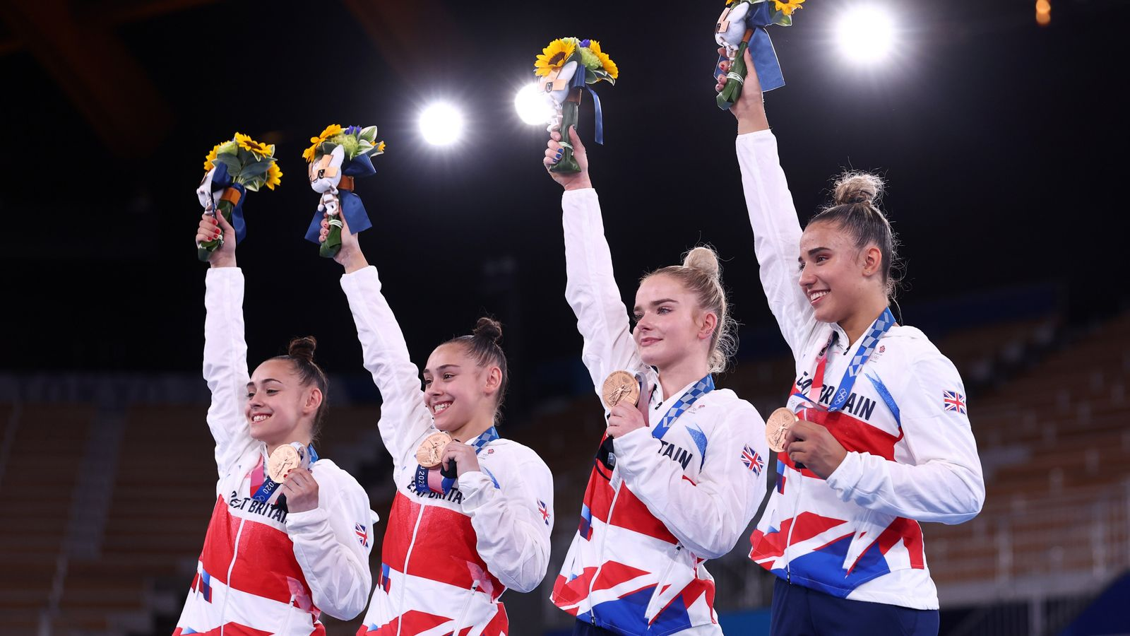 Tokyo Olympics: Team GB win bronze in women's team gymnastics for first time since 1928