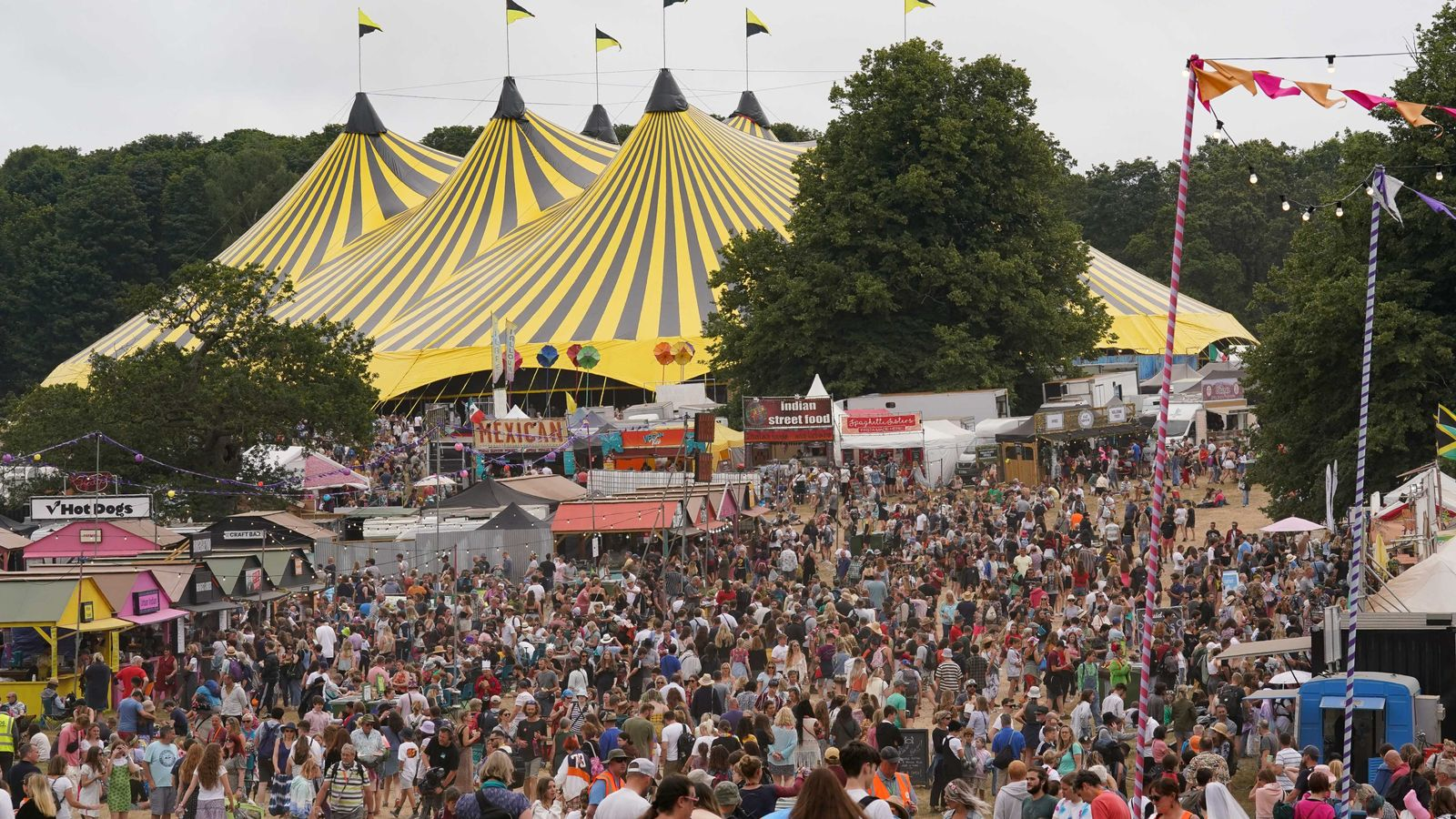 Latitude: Pink sheep, live music and vaccines – festival season is back