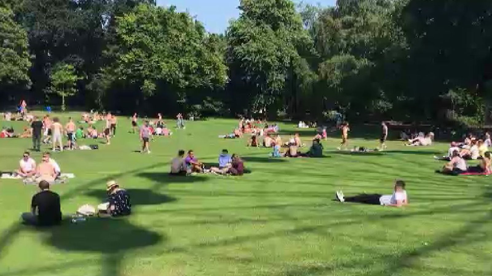 UK weather: Northern Ireland hits hottest temperature ever recorded as mercury hits 31.2C in County Down