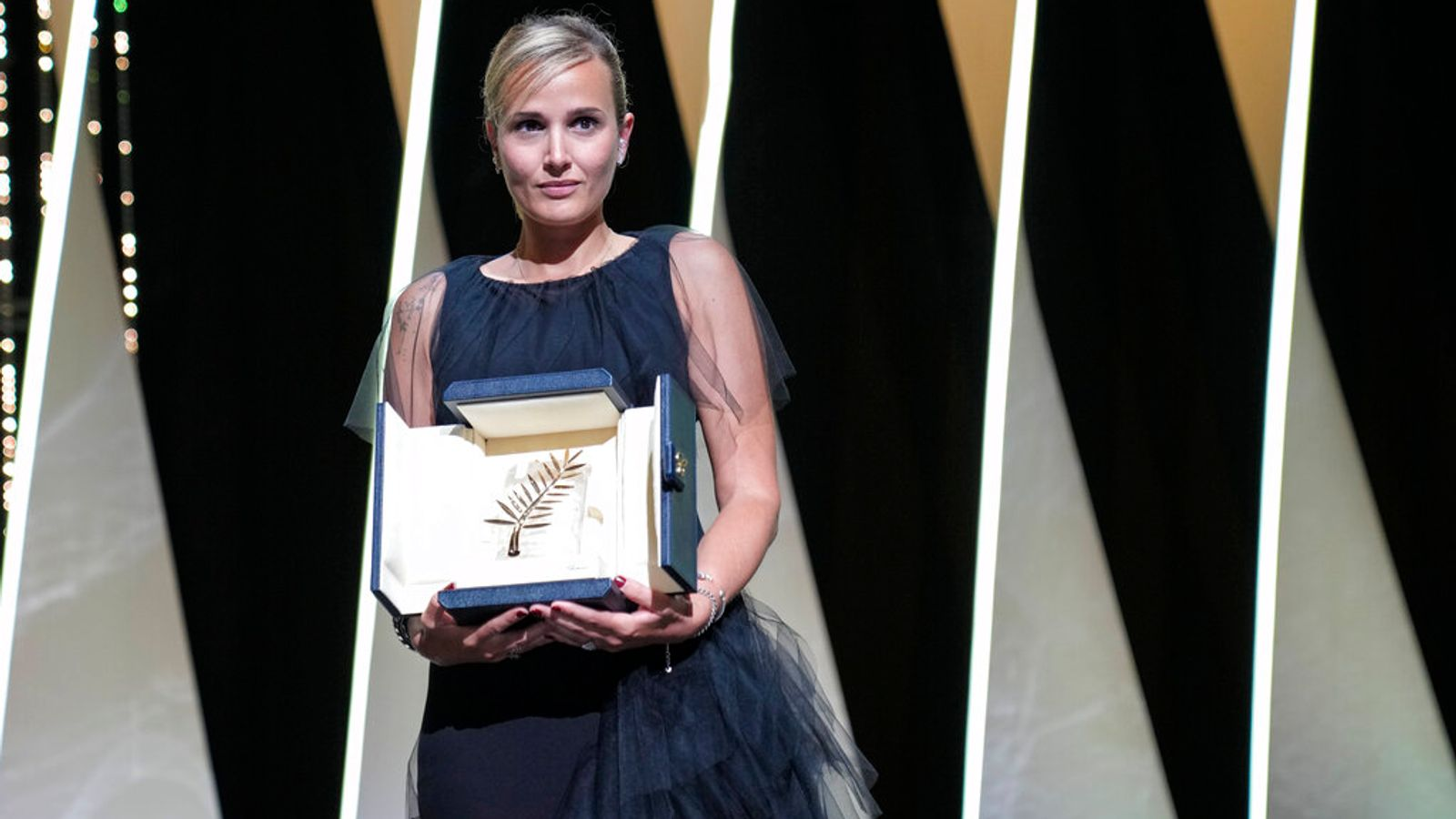 Cannes Film Festival: Palme d'Or goes to Titane – second ever win for female director