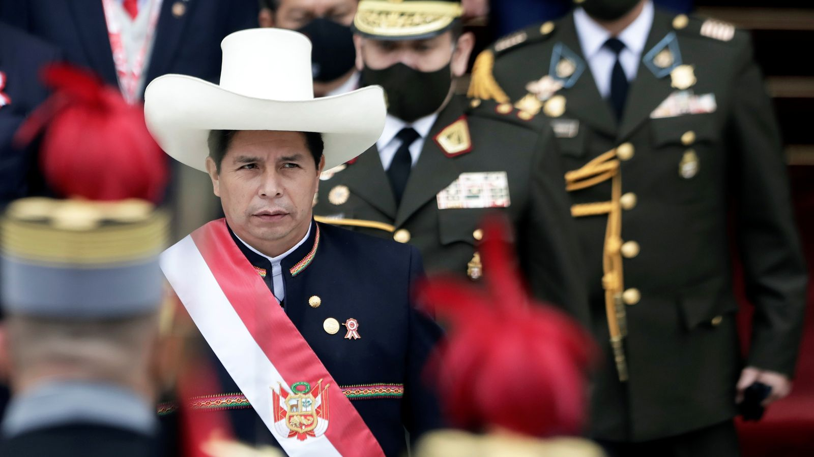 Pedro Castillo: Left-wing rural teacher becomes Peru's president, promising a new constitution