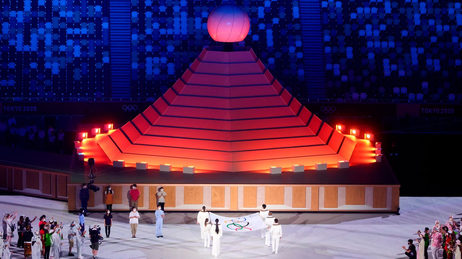 Tokyo Olympics: Opening ceremony was 'respectful, hopeful but sombre night'