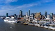 File photo dated 31/5/2021 of Liverpool waterfront with the Viking Venus Cruise liner at the cruise terminal. The city has been deleted from the World Heritage List after a United Nations committee found developments including the new Everton FC stadium threatened the value of the city's waterfront. Issue date: Wednesday July 21, 2021.