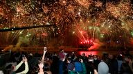 The party has started in Brisbane after the city on the north east coast of Australian was named as the host the 2032 Olympics. Pic: AP
