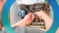 Central heating systems in homes and offices make up a third of the UK's emissions