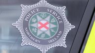 A stock picture of a Police Service of Northern Ireland (PSNI) logo badge in Belfast Northern Ireland.   PRESS ASSOCIATION Photo. Picture date: Tuesday July 2, 2019. See PA story POLICE Stock . Photo credit should read: Niall Carson/PA Wire