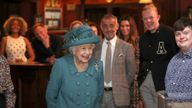 The Queen popped into the Rover
