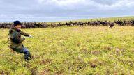 Slava Kemlil is a reindeer herder facing fresh challenges due to climate change