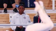 Biles is still undecided on whether she will compete in her remaining finals, the floor and beam