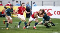 The British and Irish Lions managed to pull it out of the bag in the second half