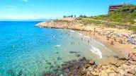 Spanish beach generic