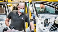 The plant will produce its first all-electric vehicles from 2022