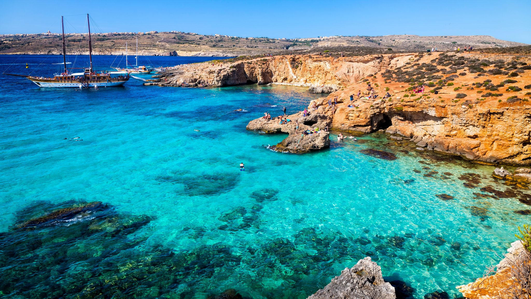 COVID-19: Malta requires proof of vaccination before allowing visitors to  enter | World News | Sky News