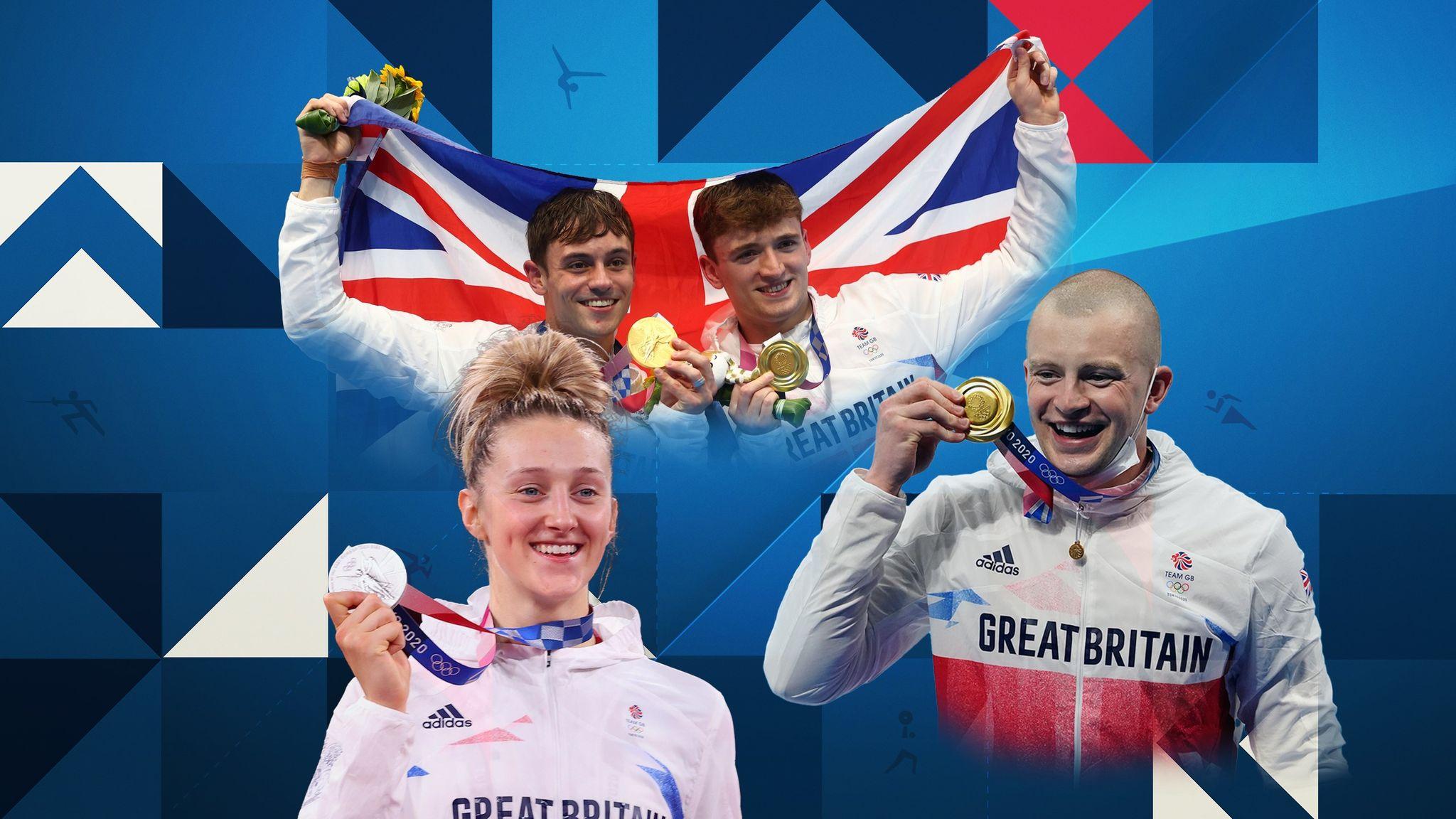 Tokyo Olympics: The full list of medal winners from Team GB so far | UK  News | Sky News