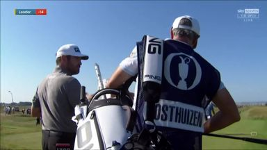 Oosthuizen hits pin in ace near-miss!