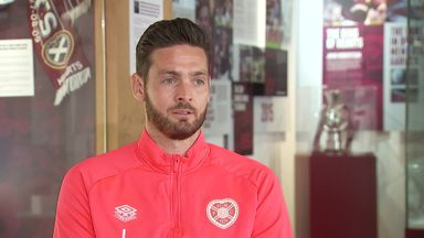 Gordon delighted at Hearts captaincy