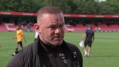Rooney: I won't walk away from Derby